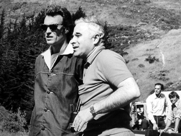 Clint Eastwood és Ted Post A Magnum ereje forgatásán (Fotó: www.acertaincinema.comÖ