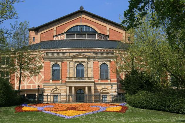 A Fesztiválpalota Bayreuthban