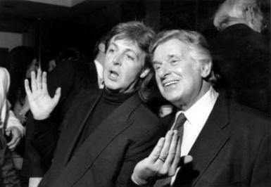 Paul McCartney és Sid Bernstein