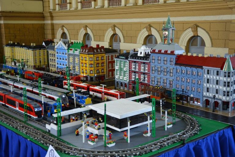 Lego városrészlet