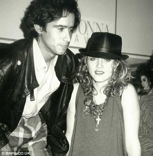 John 'Jellybean' Benitez és Madonna (Forrás: dailymail.co.uk)