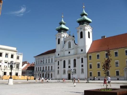 A koncert helyszíne (Fotó: infogyor.hu)