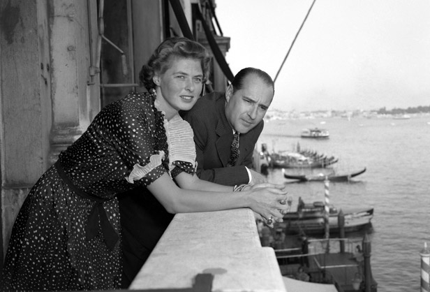 Ingrid Bergman és Rossellini
