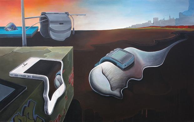 ...ezt festette volna Dali az órák helyett a 21. században (Forrás: complex.com)