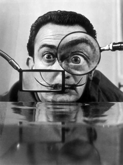 Salvador Dalí (Fotó: Willy Rizzo)