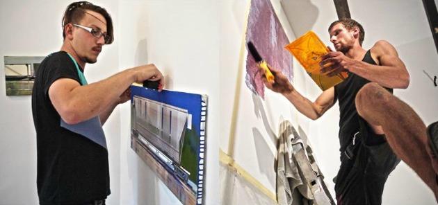A két művész munkában