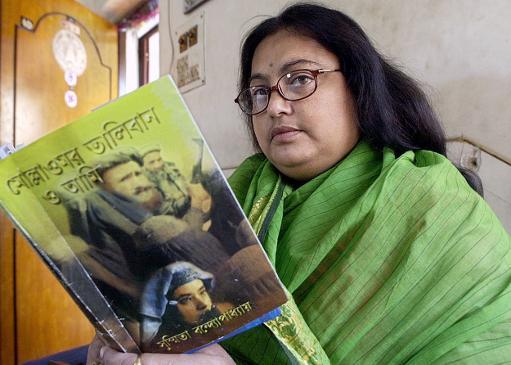Susmita Barendzsí 2003-ban Calcuttában (Fotó: alvinet.com/ Deshakalyan Chowdhury AFP)