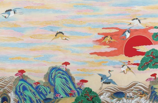 Suh Gong-im festménye