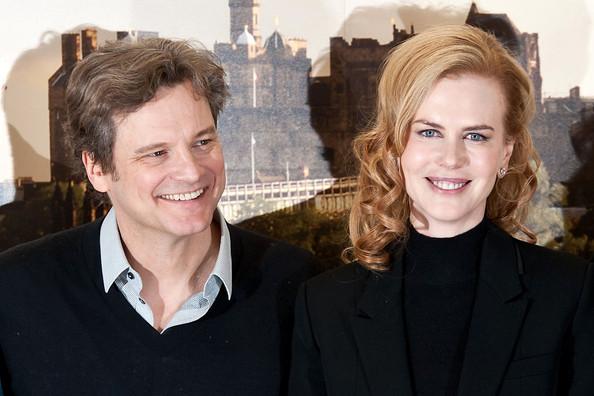 Colin Firth és Nicole Kidman (Fotó: zimbio.com)
