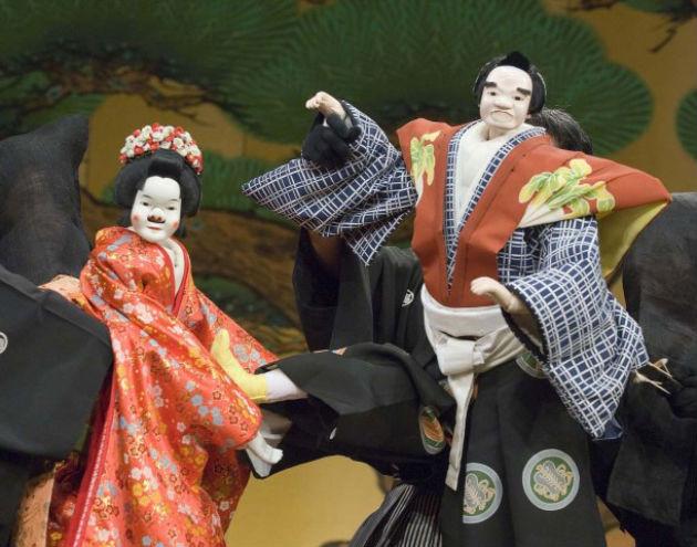 Az Asiti-za társulat előadása (Fotó: www.japanalapitvany.hu)
