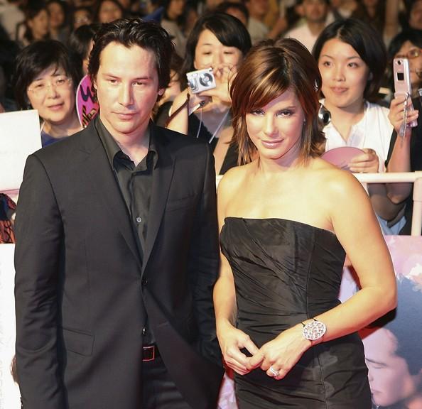 Keanu Reeves és Sandra Bullock (Fotó: zimbio.com)