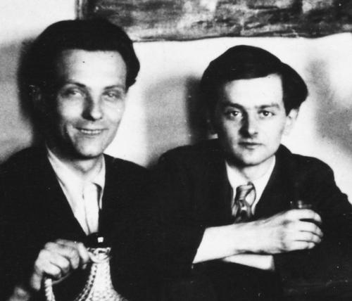 Illés Árpád és Weöres Sándor
