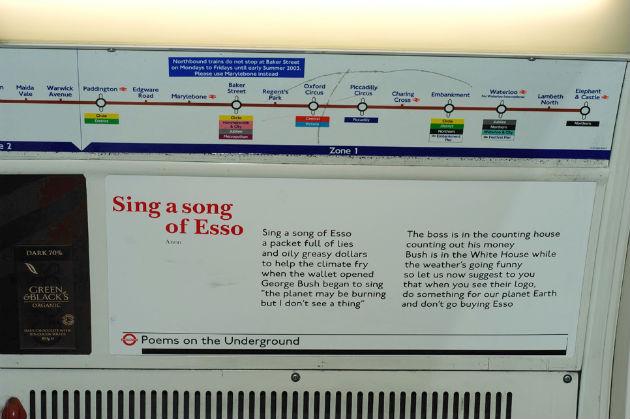 Versek a metrón