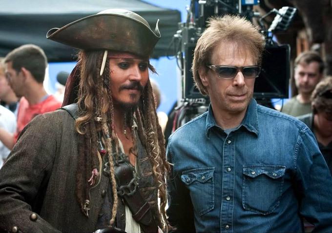 Johnny Depp és Jerry Bruckheimer (Fotó: blogs.indiewire.com)