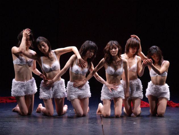 Részlet a Batik Shoku című előadásából (Fotó: Koichiro Saito)