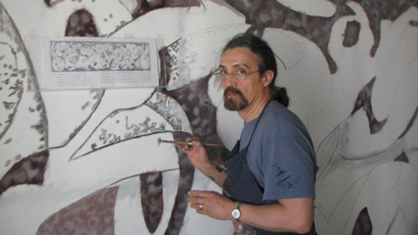 A művész (fotó: kitekinto.hu)