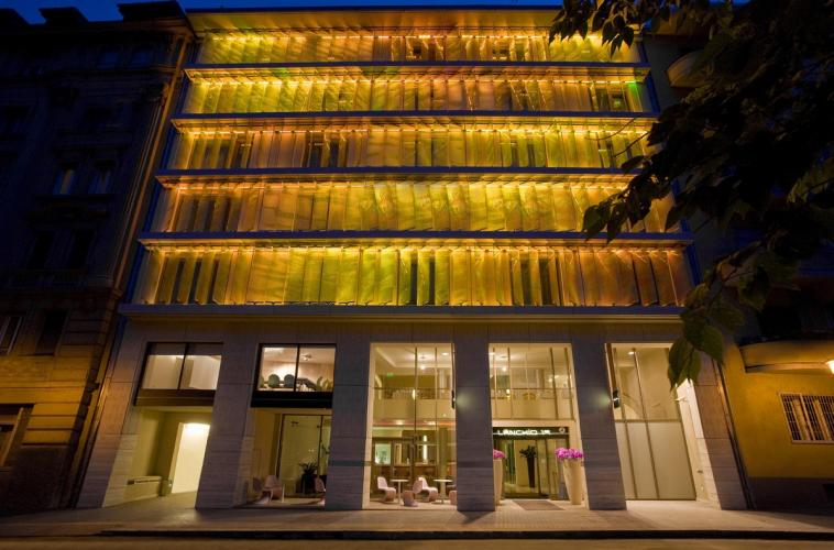Lánchíd 19 DEsign Hotel: ide vetítik a képeket