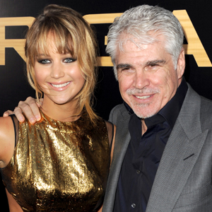 Jennifer Lawrence és Gary Ross