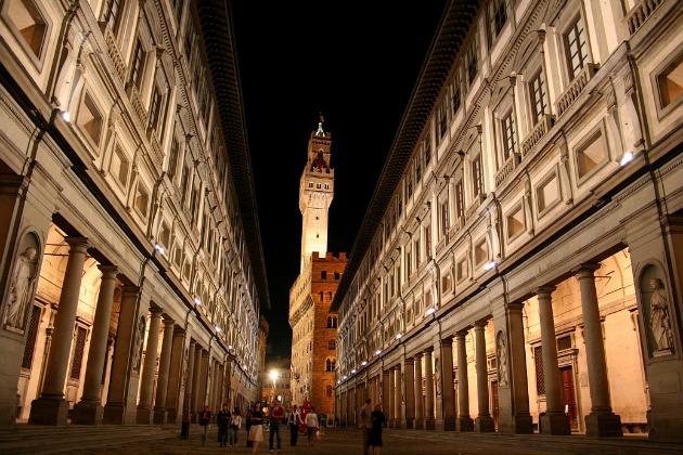 Uffizi-képtár (Fotó: Chris Wee)