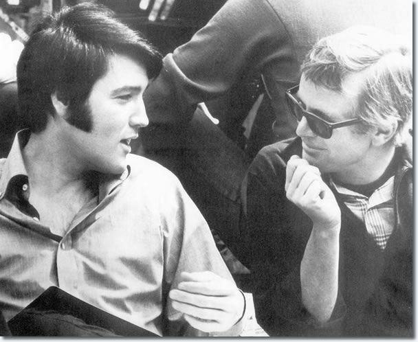 Elvis Presleyvel a Change of Habit forgatásán