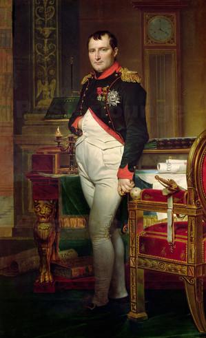 Jacques-Louis David: Napoleon Bonaparte