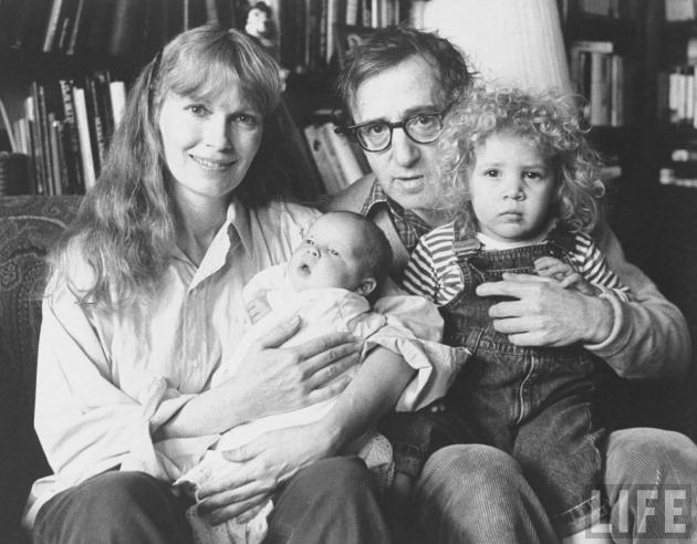Mia Farrow és Woody Allen (Fotó: Life Magazine)