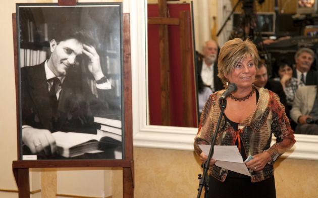 Szvorák Kati a díjátadón (Fotó: Vígh Tamás)