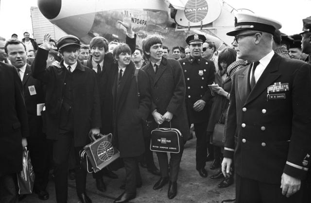 Bill Epridge fotója a Beatlesről 1964-ben (Forrás: wishtv.com)