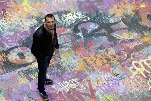 Mehdi Ben Cheikh, az ötletgazda (Fotó: Joel Saget, AFP/hungeree.com)