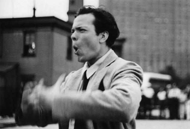 Orson Welles a Too Much Johnson forgatásán (Fotó: thehistoryblog.com)