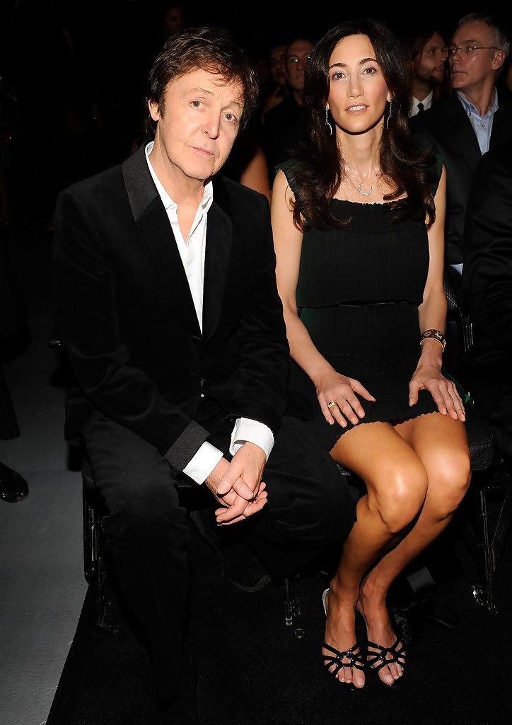 Paul McCartney és felesége, Nancy Shevell (Fotó: zimbio.com)