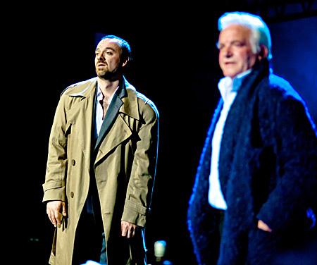 Bert fiatalon és Bert idősebb korában: Christophe Poncet és Miljenko Ðuran (Fotó: Kállai-Tóth Anett)
