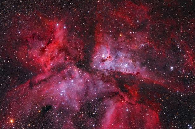 Nagy Carina-köd (Fotó: Fényes Lóránd/NASA/hirado.hu)