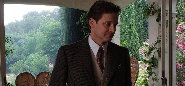 Colin Firth a forgatáson (Fotó: cinenews.be)
