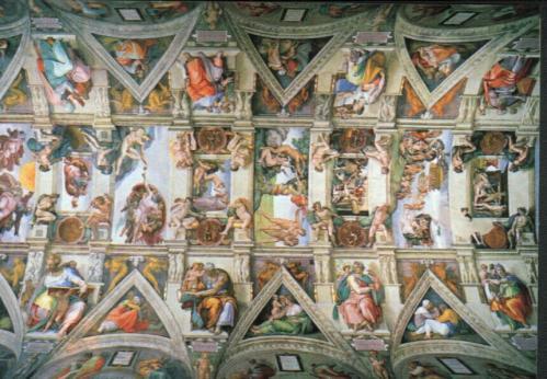 Sixtus kápolna freskói