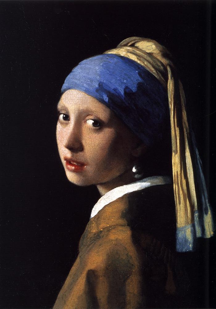 Jan Vermeer: Leány gyöngy fülbevalóval