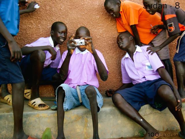 A fotót a 14 éves Josephine készítette a St. Bartholomew's Árvaházban Dél-Szudánban