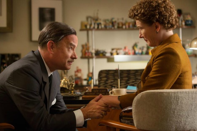 Tom Hanks és Emma Thompson a Saving Mr. Banksben