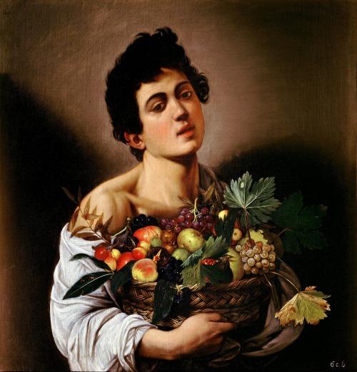 Carvaggio: gyümölcskosaras fiú (Fotó: en.wikipedia.org)