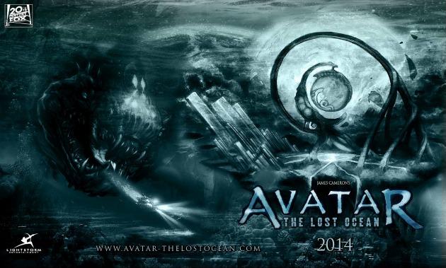 Egy rajongó által tervezett Avatar 2 plakát