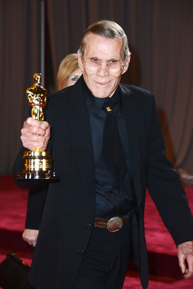 Hal Needham a tavalyi Oscar-díj átadón (Fotó: zimbio.com)