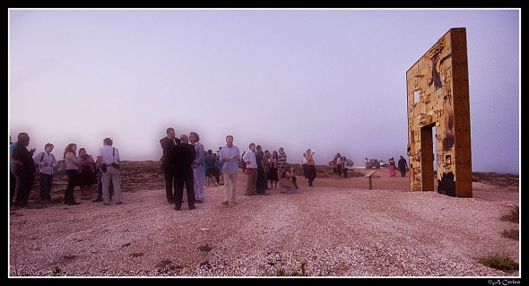 Lampedusa kapuja (Fotó: amaniforafrica.it)