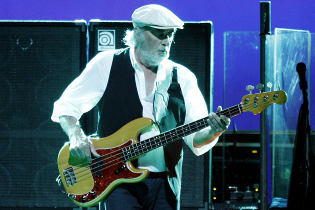 John McVie (Fotó: Kevin Winter, ultimateclassicrock.com/Getty Images)
