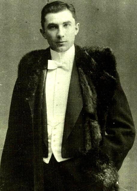 Lugosi Béla 18 évesen