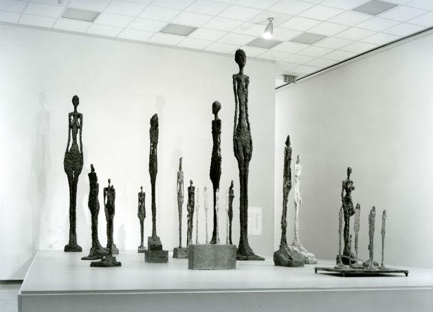 Alberto Giacometti szobrai (Forrás: artic.edu)