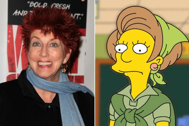 Marcia Wallace és Mrs. Krabapell (Fotó: screencrush.com)