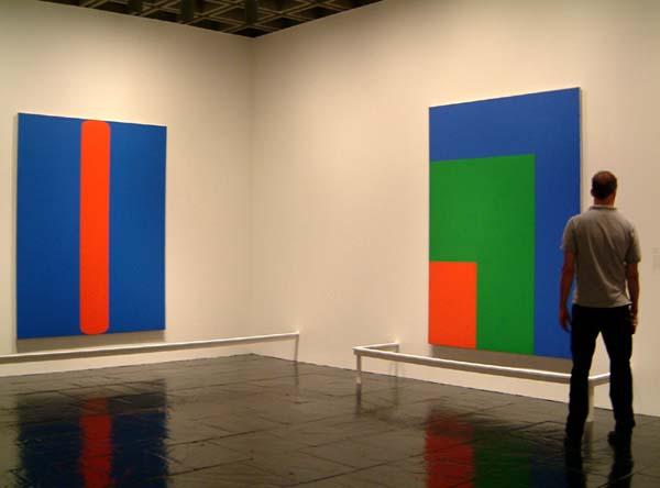 Ellsworth Kelly munkái (fotó: artnews.com)