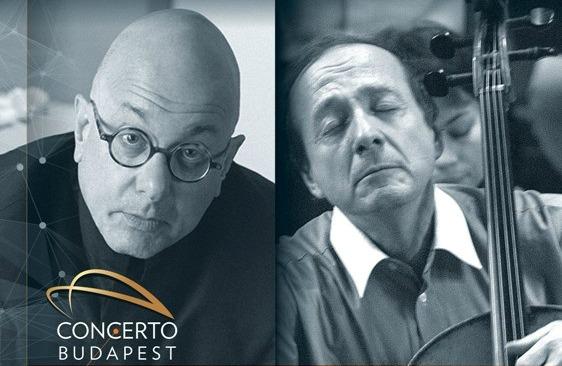 Leon Botstein és Perényi Miklós egy koncerten