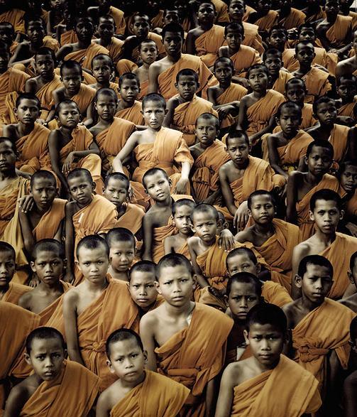 Jimmy Nelson: Tibeti szerzetesek