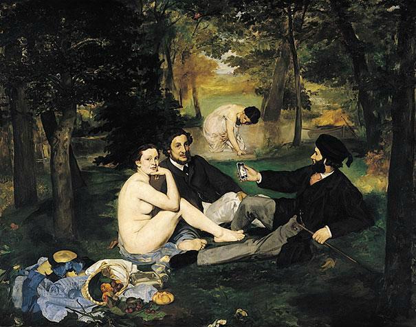 Edouard Manet: Ebéd a fűben